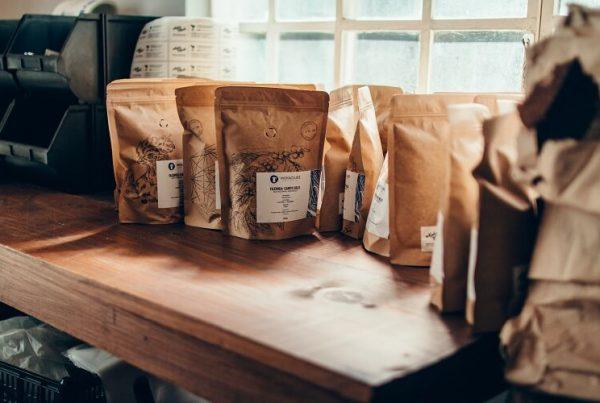 Embalagens de café