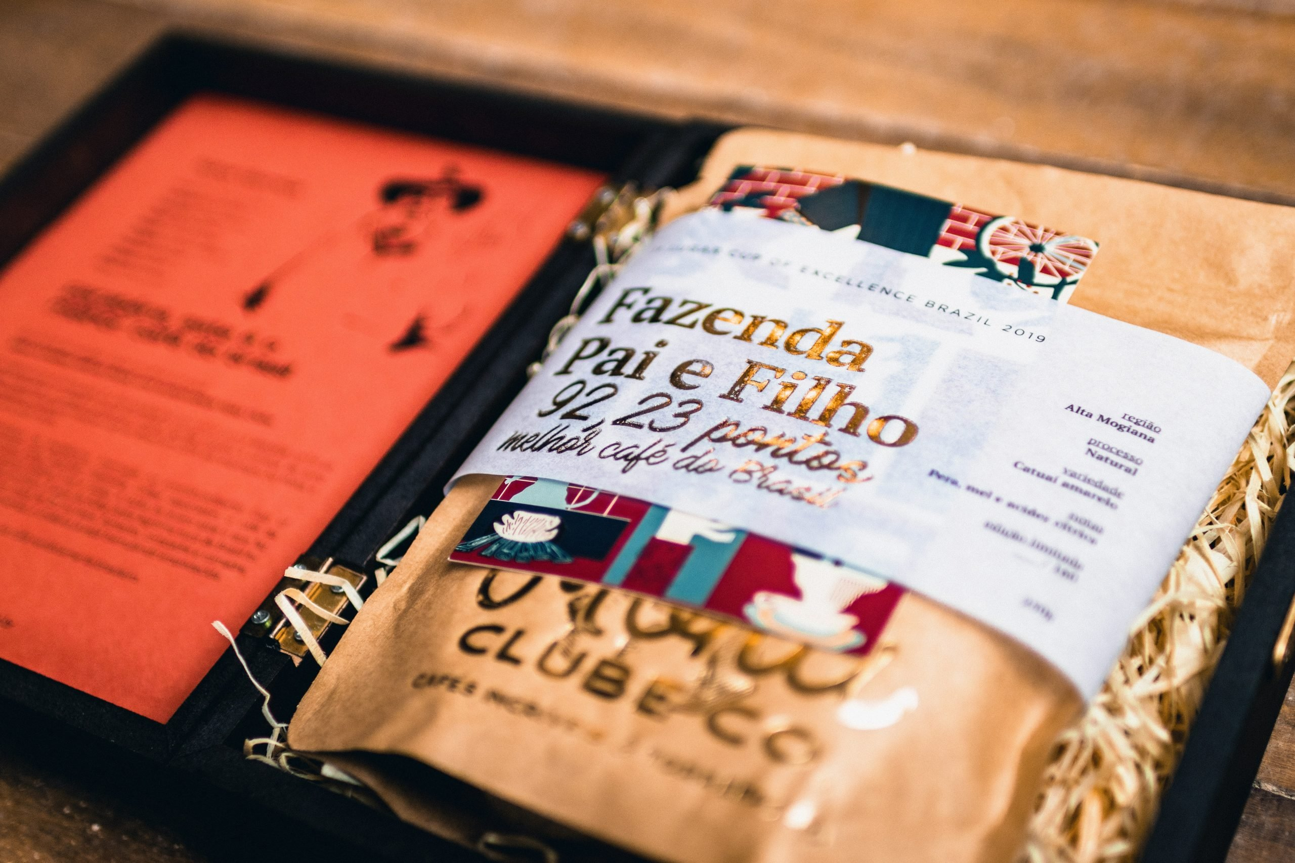 Café da Fazendo Pai e Filho, edição de luxo do clube de assinatura de café do Moka Clube.