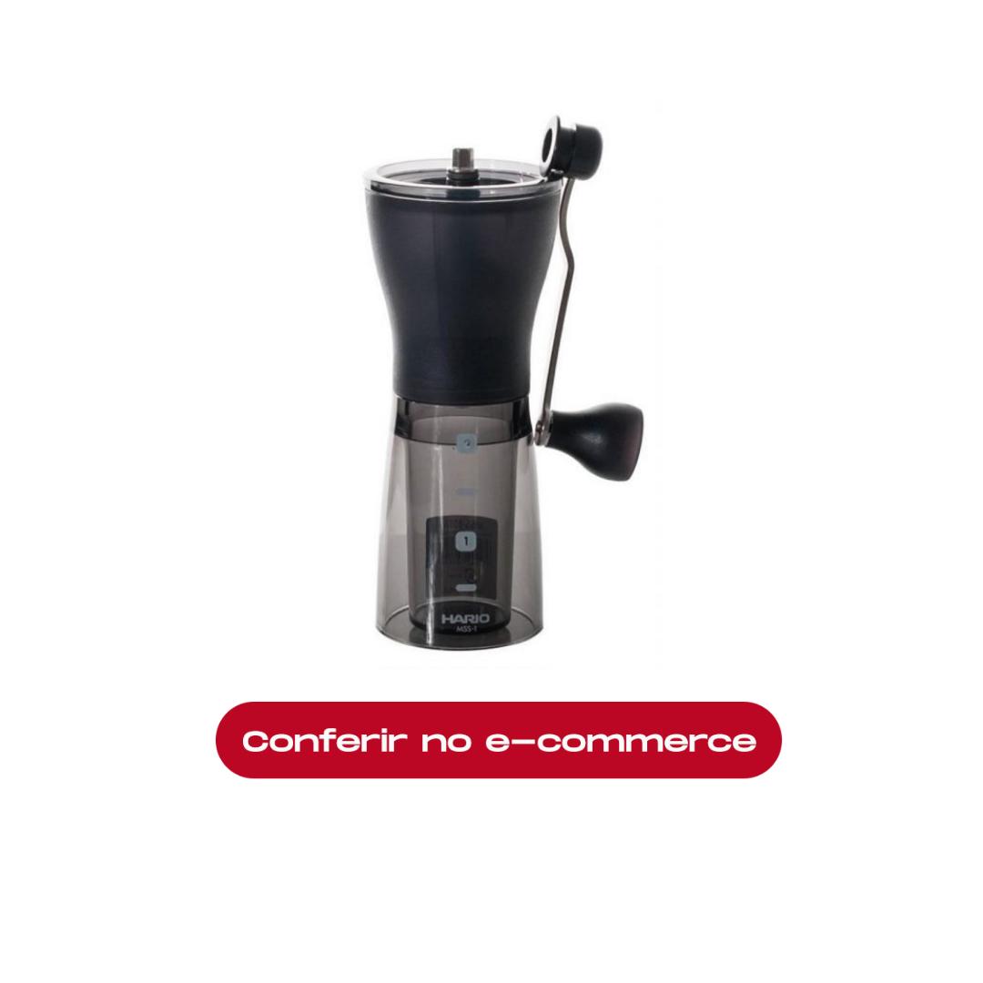 Hario Slim: um dos melhores moedores de café do mercado. Clique e compre!
