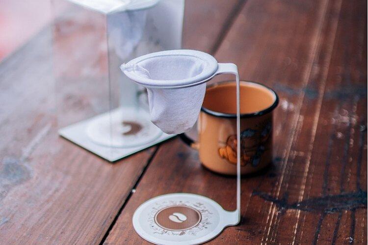 Coador de café do Moka.