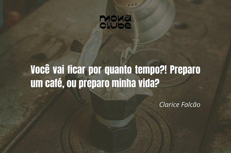 Frase de Clarice Falcão