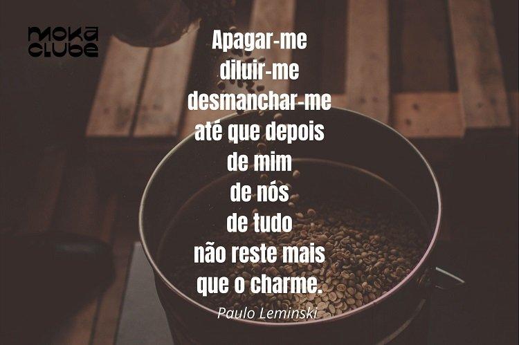 Poema de Paulo Leminski.