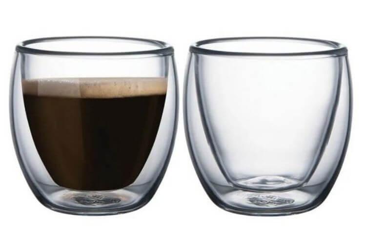 copo parede dupla para café