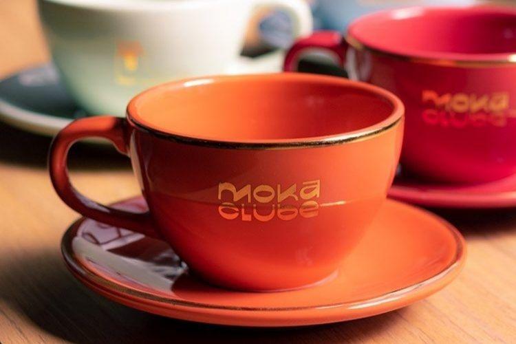 Xícara de café para fazer latte art