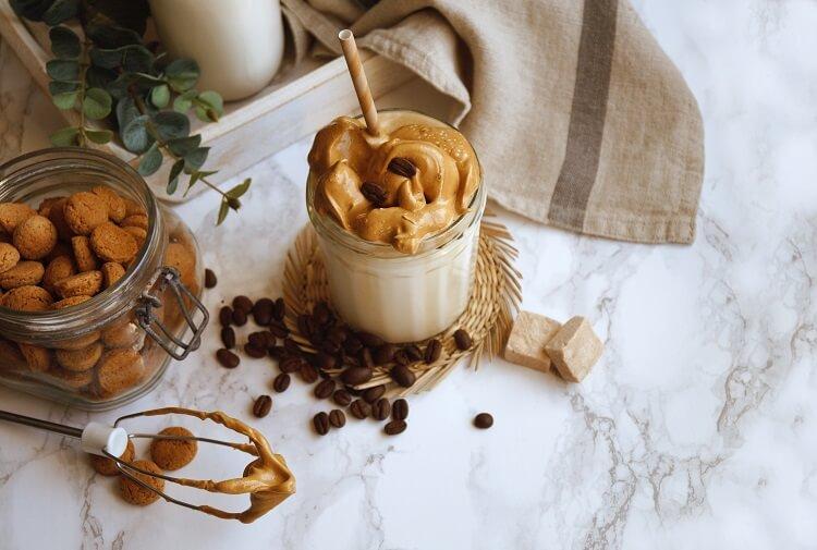 Café Dlagona e ingredientes