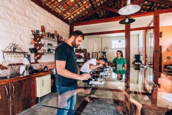 Q-Grader analisando cafés especiais